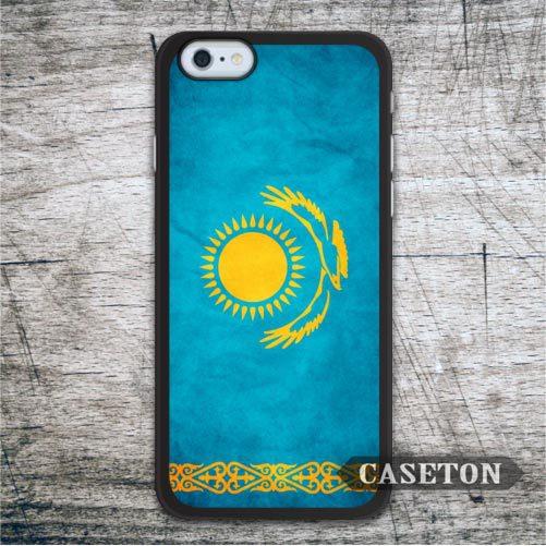 Flag Kazakhstan font b Case b font For font b iPhone b font 7 6 font