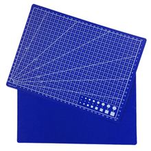 A4 Grid Lines Cutting Mat Reversible Design Carved Cutting Plate Pads Handwork Assitant Tool 30X22CM Fast Shipping(China)