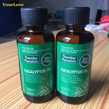 High Quality Thursday Plantation 100% Pure Eucalyptus Oil Relieve cold flu symptom arthritic muscular aches pains Massage oil(China)