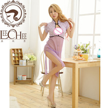 Buy Leechee Q744 Sexy underwear dress robe temptation sexy pajamas perspective temptation lingerie sexy hot erotic porn costumes