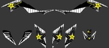 330 Star New STYLE TEAM DECALS STICKERS Graphics Kits for Yamaha RAPTOR 700 ATV 2006 2007 2008 2009 2010 2011 2012(China)