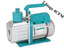 Two Stage Dual Voltage 110V/220V 60HZ Adjustable 4CFM Rotary Vane Portable Vacuum Pump HVAC R410a R134a R407C R22