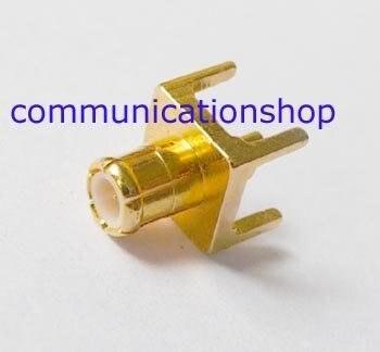 100pcs MCX Male PCB Straight 50ohm RF Connector<br>