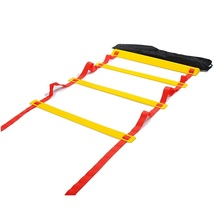 5 Meter Football Training Ladder Soccer Training Agility Ladder Durable 16.5 Feet Football Speed Training Equipment Ladder(China)