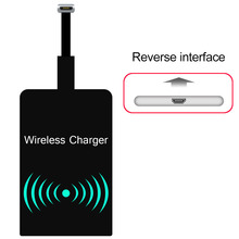 New Universal Anti-head Qi Wireless Charging Receiver Micro USB / TypeA B Module Mat for Android Phones for Samsung(China)