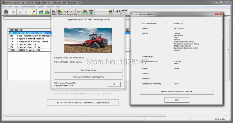 New Holland Electronic Service Tools (CNH EST 8.5)...