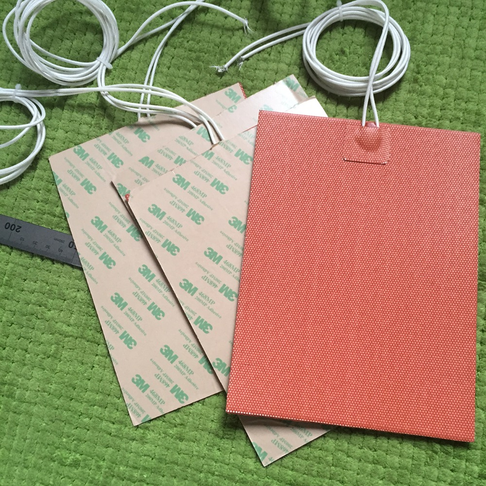 6 X 10 (150mm X 254mm) 300W 120V Universal Flexible Silicone Heater Pad/Element,  Custom Design Welcome<br><br>Aliexpress