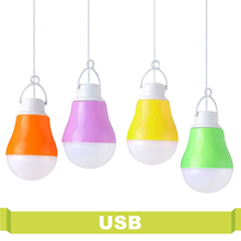 High Power Energy Saving Bulb USB Portable Led Night Light 5V DC 5W For Outdoor Work With Power Bank Notebook Camping Light Led(China)