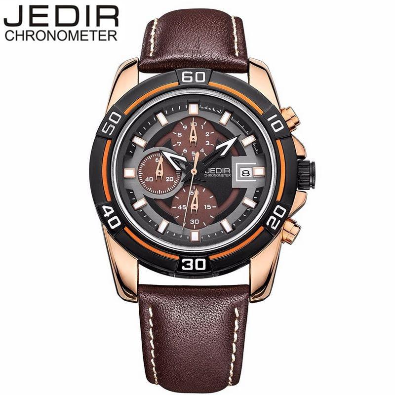 JEDIR Casual Watch Man Montre Homme Quartz Watch Men Chronograph Calendar Wristwatch Gift Box Free Ship<br><br>Aliexpress
