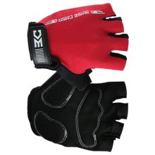 Buy Red 1 Pari Summer Cycling Gloves Half Finger Bike Sports Gloves Sponge Pad Breathable Racing MTB Bicycle Cycle Running Gloves for $3.34 in AliExpress store