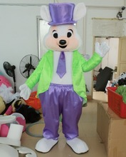 adult easter bunny mascot costume(China)