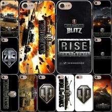 world of tanks Game Hard White Cover Case for iPhone 7 7 Plus 6 6S Plus 5 5S SE 4 4S