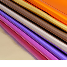 0.8mm thick Foiled mirror synthetic leather/ imitation leather/ furniture material/ shiny fabric/ for belt, handbag shoes