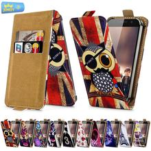 For Leagoo Elite 1 Lead 7 Universal High Quality Printed Flip PU Leather Cell Phones Case Cover Middle Size(China)