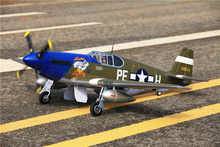 FMS RC Airplane 1400MM / 1.4M Gaint Warbird P51 / P-51 B Mustang Dallas Darling Newest version PNP Big Scale Model Plane