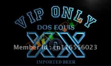LA420- VIP Only Dos Equis Beer LED Neon Light Sign(China)