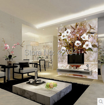 616 Can be customized 3 d visual space home decoration mural art wallpaper chinese style personality wall stickers home decor<br><br>Aliexpress