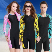 2017 New Upf50 Wetsuit 1mm Long Swimming Suits For Women Windsurf Lycra Dive Surf Wet Suit Diving Surfing Wetsuits Swim J