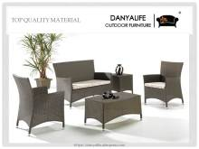 DYSF-D5401 Danyalife High Quality Villa Outdoor Rattan Sofa and Coffee Table(China)