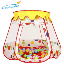 2017 New Foldable Children Kid Ocean Ball Pool  Indoor/Outdoor Play Big House Ball Pool Play Tent Toys For Children Gift