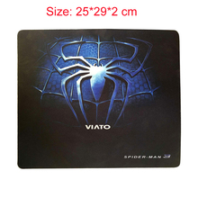 Middle Size GETWORTH Mouse Pad Spiderman Gaming Mousepad Animation Mousepad 32*24*3 cm 25*29*2 cm(China)