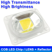 LED COB Lamp Chip LED Lens Reflector 230V 220V 110V 20W 30W 50W For LED Flood Light DIY Need Heatsink for Cooling