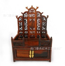 Redwood imitation Ming furniture miniature red wood dresser exquisite miniature furniture