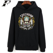 Rick and morty hoodies harajuku printed mens hoodies pullover Winter hoody tracksuits Rick and morty