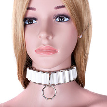 Buy Collar Slave Fantasy Fetish Bondage BDSM Gear Bondage Neck Strap Sex Product Erotic Sex Games Lovers Bondage Adult Sex Toys