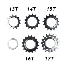 13T/14T/15T/16T/17T Fixie Bike Chain Rings Single Speed Bike Wheel Sprocket Fixed Gear Bike Freewheel Bicycle Cogs Bike Parts