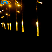 LMID 4M 120LEDs 110V 220V Outdoor Multicolor LED String Lights Christmas Lights Holiday Wedding party decotation Luces(China)