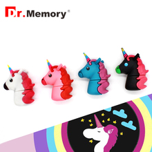 Dr.Memory Trojan horse style USB Flash Drive 16GB Pen Drive Memory Stick Wholesale Cute U Disk USB 2.0 32/16/8/4 GB Pendrive(China)