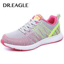 DR.EAGLE Womens Outdoor Sport sneakers women Athletics sports Female Jogging Textile running shoes for women krasovki sneaker(China)