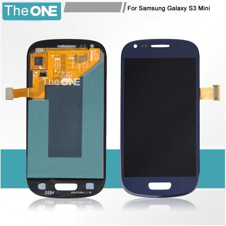 Free DHL White Black Blue LCD Display Touch Screen Digitizer Full Assembly Replacement Part For Samsung Galaxy S3 Mini i8190<br><br>Aliexpress