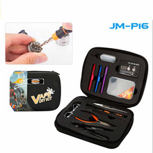 Buy JAKEMY JM-P16 12 1 DIY Electronic Cigarette Kit Atomizer Coil Tool Bag Accessories Vape Hand Tool Set Screwdriver Plier Kit for $27.44 in AliExpress store