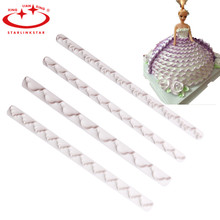 4pcs lace skirt layering model Set Cake sugar fondant DIY Mould Cake Tools decoration Bobbi doll sugar making mould