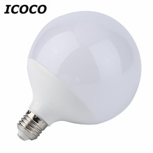 3/5/7/9/12/15W Super Bright E27 LED Light Bulb Energy Saving Global Ball Shape Home LED Light Lamp Bulb White/Warm White