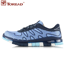 Toread Women Rubber Lace-up New Authentic  Shoes Outdoor Running Breathable  Lightweight Shoes  Tfof82771