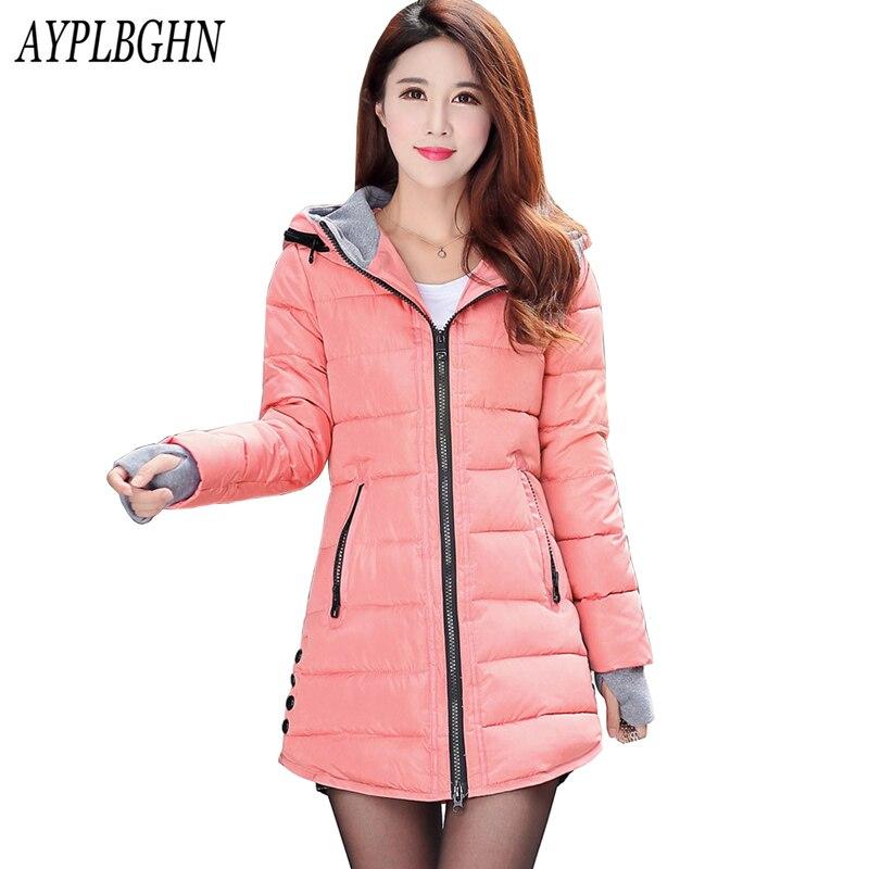 New Winter Jacket Women Parka Thick Winter Outerwear Plus Size Coat Long Slim Design Cotton-padded Jackets&amp;Coats Plus size 6L52Îäåæäà è àêñåññóàðû<br><br>