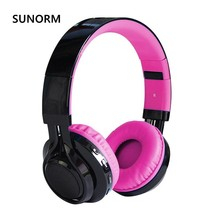 Sunorm AB005 wireless stereo Bluetooth headset with a microphone TF card FM FM rhythm LED headphones give children the best gift