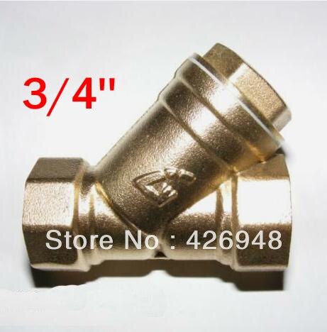 Aliexpress.com : Buy 3/4\'\' DN20 port size Brass Y strainer valve,Y ...