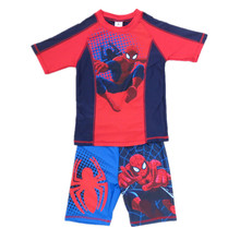 Boys Spiderman Swimwear Two Pieces children Bathing Suit Toddler Clothes Swimsuit For Boys Kids Surfing Clothing(China)