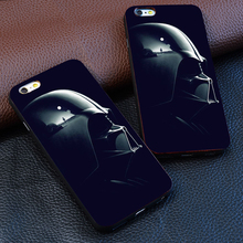 Star Wars Black Helm For iPhone 4 4s 5S 5 6 6S 7 Plus Ultra Thin For samsung s3 s4 s5 s6 s7 Edge Hard plastic phone shell