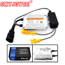Buy SKYJOYCE 2pc AC 55W ballast Fast Bright HID DLT T5 HID ballast ignition blocks DLT T5 Slim HID Xenon Ballast Xenon Light H4 H7 for $42.28 in AliExpress store
