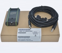 PC Adapter USB A2 Cable for Siemens S7-200/300/400 PLC DP PPI MPI Profibus 6GK 1571-0BA00-0AA0 with CD(China)