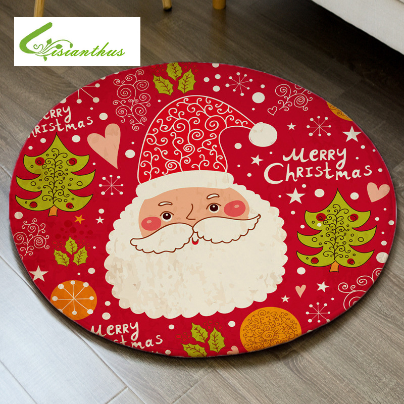 Merry Christmas Floor Mat 3D Santa Claus Living Room Anti Slip Carpet  Christmas Decorations For Home Xmas Party New Year | My Sweet Home