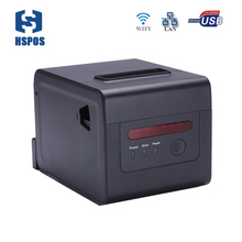 High quality rj45 thermal printer with cutter and buzzer impresora wifi 58mm 80mm pos receipt printer multifunctional device(China)