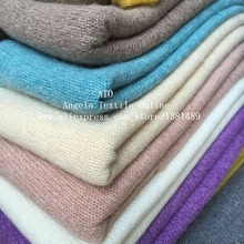 Knitted Fabrics Wholesale Thick Woolen Sweater Fabrics Super Soft very high quality fabrics,24 colors for choose(China)