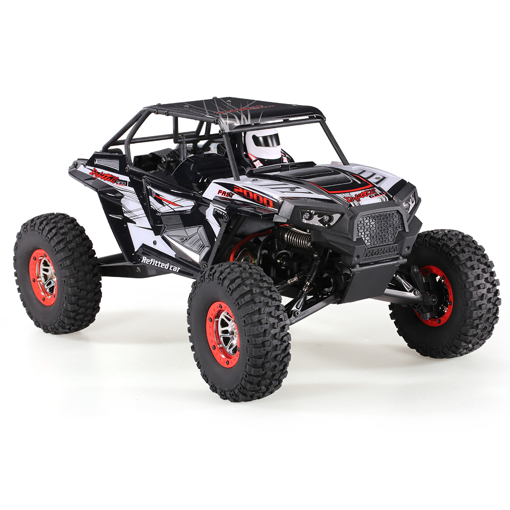 Cool Remote Control Climbing Car SUV 10428-B2 110 2.4G 4WD Electronic Rock Crawler Off-Road Buggy Desert Baja RC Cars RTR (8)