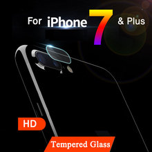 New HD 0.2mm For Apple iPhone 6 6s 7 Plus 7Plus Rear Camera cover Back Lens protector Tempered Glass Film Anti-Scratch Guard